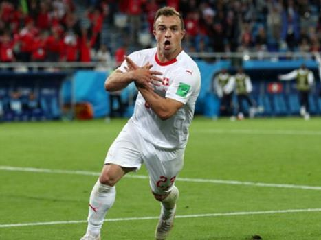 WORLD CUP 2018: Switzerland strike late to beat Serbia 2-1