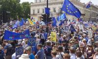 Tens of thousands march in London for second Brexit vote