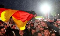 FIFA World Cup 2018: Fans dance in Berlin rain as Germany survive