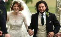 Game of Thrones stars Kit Harrington and Rose Leslie tie knot in Scotland