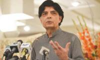 Will soon disclose why I contested as an independent candidate, Nisar