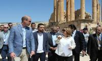 Prince William visits Jordan´s Roman ruins at Jerash