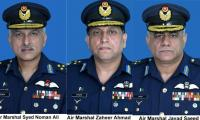 Pakistan promotes three Air Officers as Air Marshal
