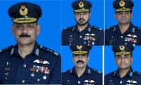 Pakistan promotes five PAF Officers to rank of Air Vice Marshal