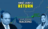 Exclusive: Nawaz Sharif's arrival; Abu Dhabi to Lahore - Watch live flight status