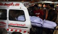 17 dead in bus-trailer collision near Matiari