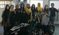 All-girls Pakistani team bags first position in Formula race car competition