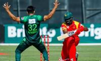 Usman Khan takes four wickets, Zimbabwe all out for 194