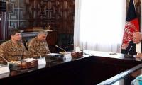 Ashraf Ghani calls COAS, assures enhanced border security