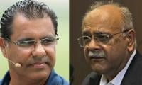 'There is no talent in Pakistan': Waqar hits back at Najam Sethi for endorsing Afridi's views