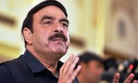 Sheikh Rasheed Ahmed in legal trouble for using fireworks
