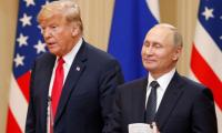 Trump thanks lone Republican for support on Putin summit