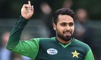 Pakistan skittle Zimbabe for 67 in third ODI