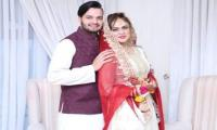 Cricketer Usman Qadir weds stage actress