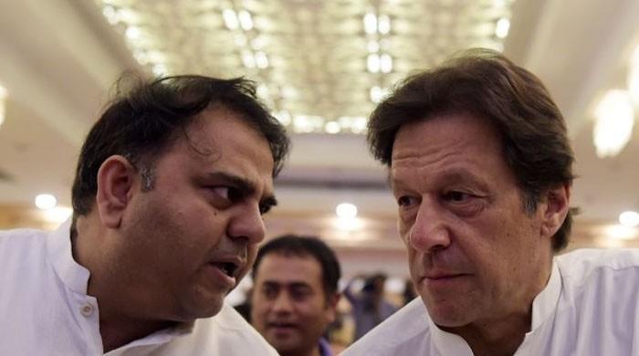 Imran Khan angry at Fawad Chauhdry over Jhelum debacle