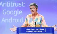 Europe hits Google with record $5 bln antitrust fine, appeal ahead