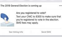 ECP teams up with Facebook to help balloters find voting info