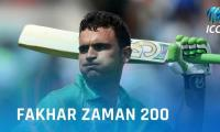 Wishes pour in for Fakhar Zaman after his blistering 210*