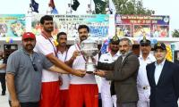 Pakistan army team clinches The Inter Services Basketball competition