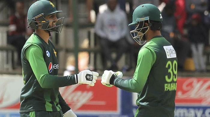Record man Zaman leads Pakistan to 364/4 against Zimbabwe