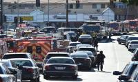 Shooting suspect barricaded inside US supermarket: police