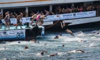 Thousands swim between continents in famed Istanbul race