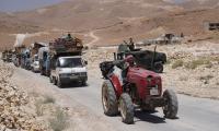 Hundreds of Syrian refugees return home from Lebanon