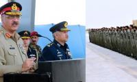 CJCSC visits PAF operational air base Bholari