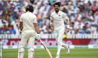 India´s Sharma fined for Malan send-off in first Test