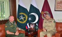 Army chief, Russian deputy defence minister discuss security cooperation