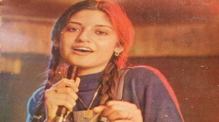 In memoriam of Nazia Hassan on her 18th death anniversary