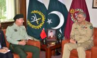 Chinese commander praises Pakistan army's contributions for regional peace