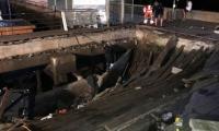 Hundreds hurt as Spain festival promenade collapses