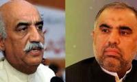 Asad Qaiser, Khursheed Shah gear up for NA speaker election battle