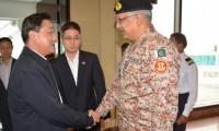 Chinese General visits Sindh Rangers headquarters