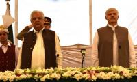 CM KP Mahmud Khan takes oath