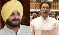 India bashes Sidhu for attending Imran Khan's oath taking ceremony