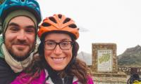 Cyclist couple on a mission to spread love gets killed by hatred