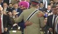 What Gen Bajwa told Indian cricketer Navjot Sidhu