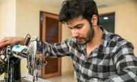 'Sui Dhaaga' makes Varun Dhawan a tailor to surprise his father
