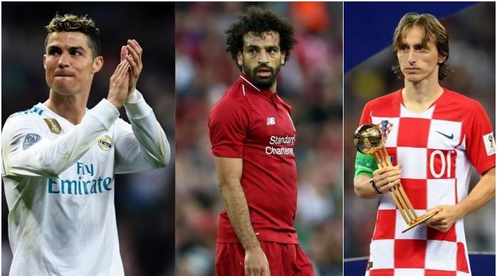 Ronaldo, Salah, Modric up for UEFA Player of the Year Award