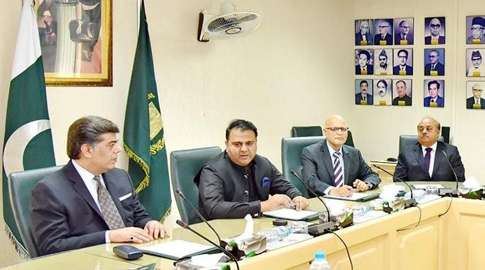 No political censorship on state-owned media: info minister Fawad Chaudhry