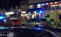 Three injured in shooting at London's Kingsbury Tube Station