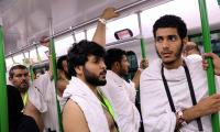 Hajj pilgrims laud China-built light rail service in Saudi Arabia