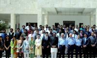 NYA members visit PAF headquarters