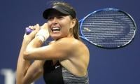 Sharapova out of US Open, loses perfect night-time record