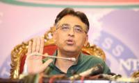 Asad Umar demands 'treat' from Arif Alvi on victory