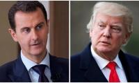 Trump says he did not discuss assassinating Syria's Assad
