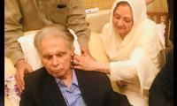 Dilip Kumar suffering from mild pneumonia, wife Saira Banu updates
