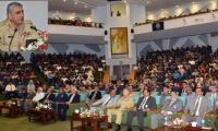 Army chief appreciates improvement in NUST's global ranking